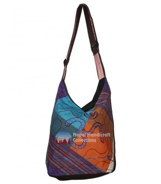 Recycled Bag Purple