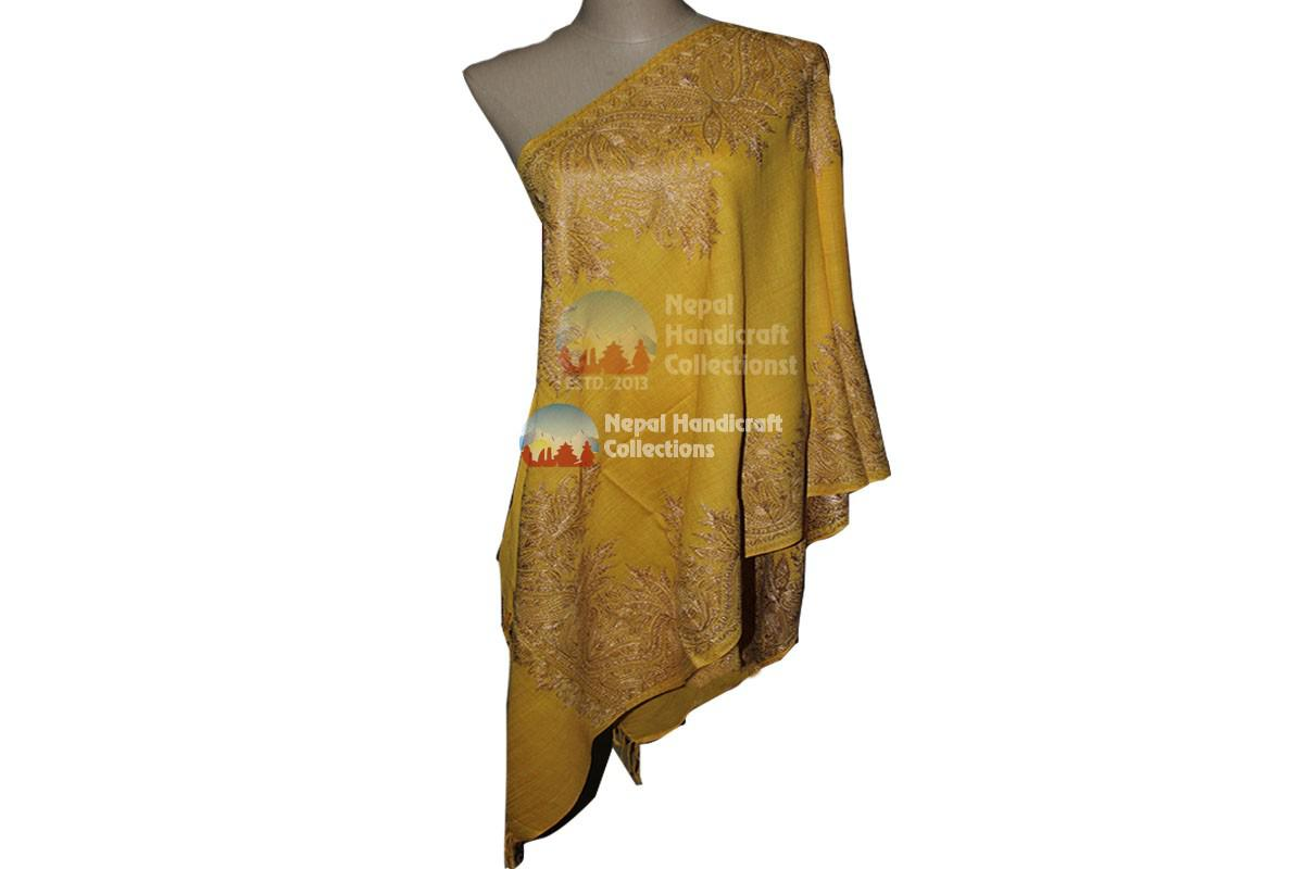 Cashmere Embroidery shawls-13