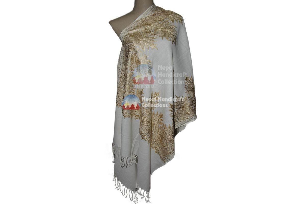 Cashmere Embroidery shawls-12