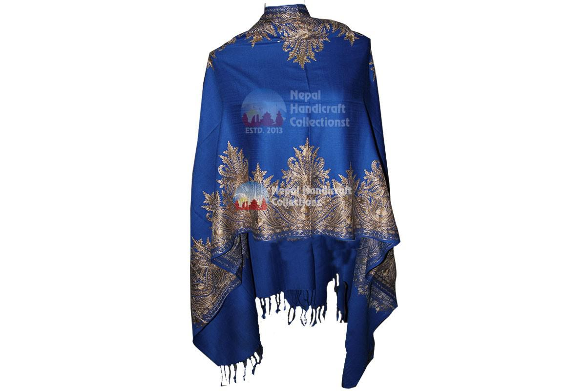 Cashmere Embroidery shawls-10