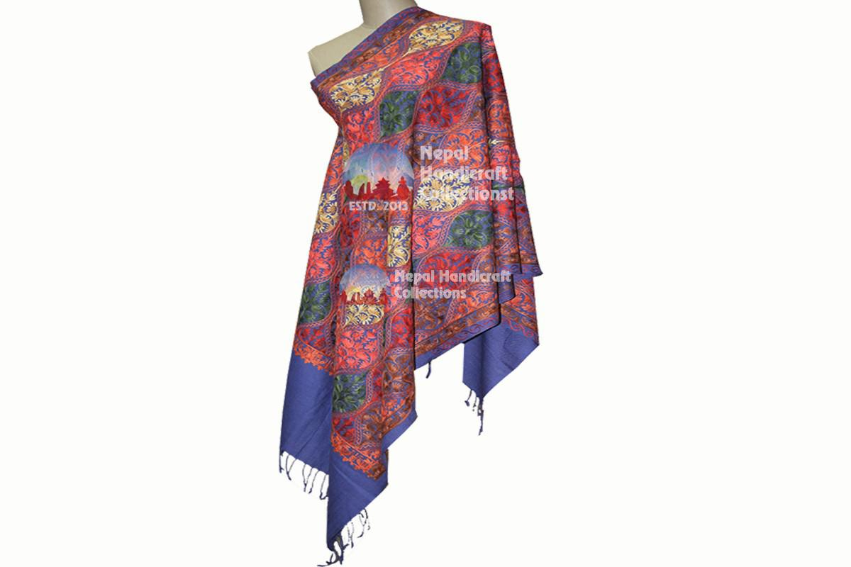 Cashmere Embroidery shawls-5