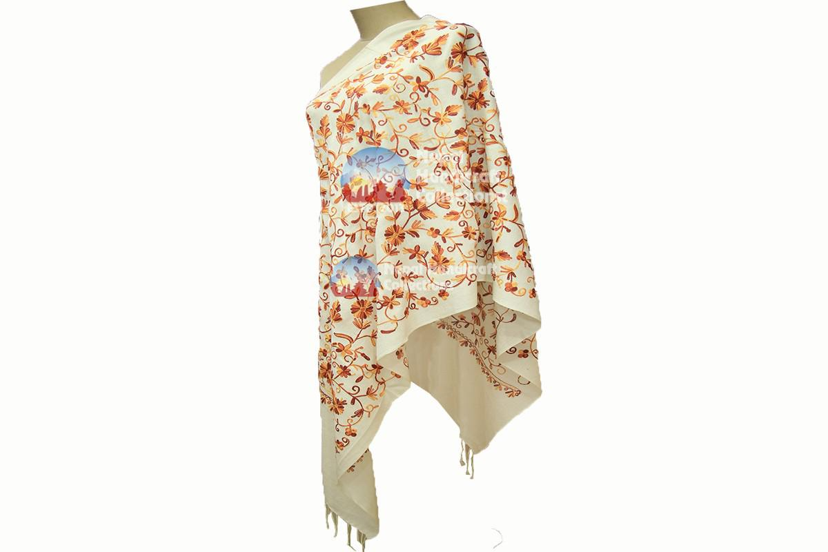Cashmere Embroidery shawls-11