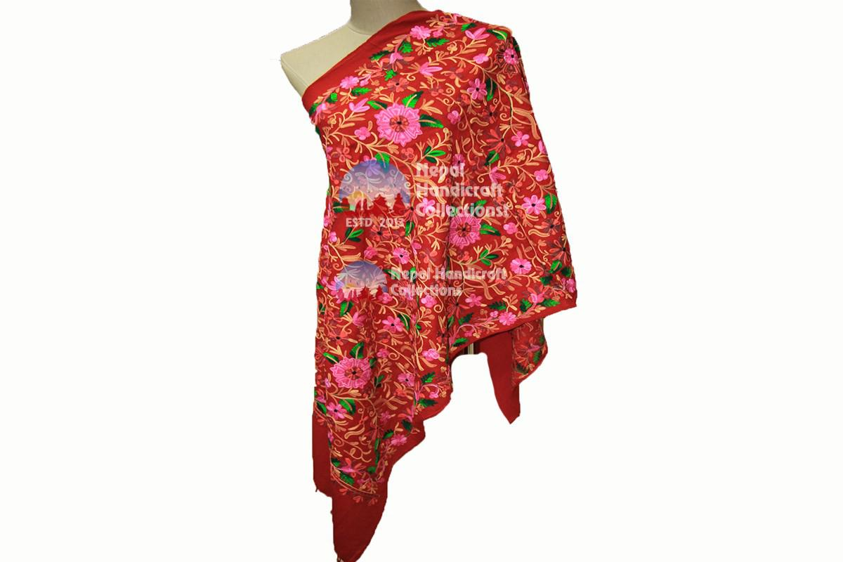 Cashmere Embroidery shawls-9
