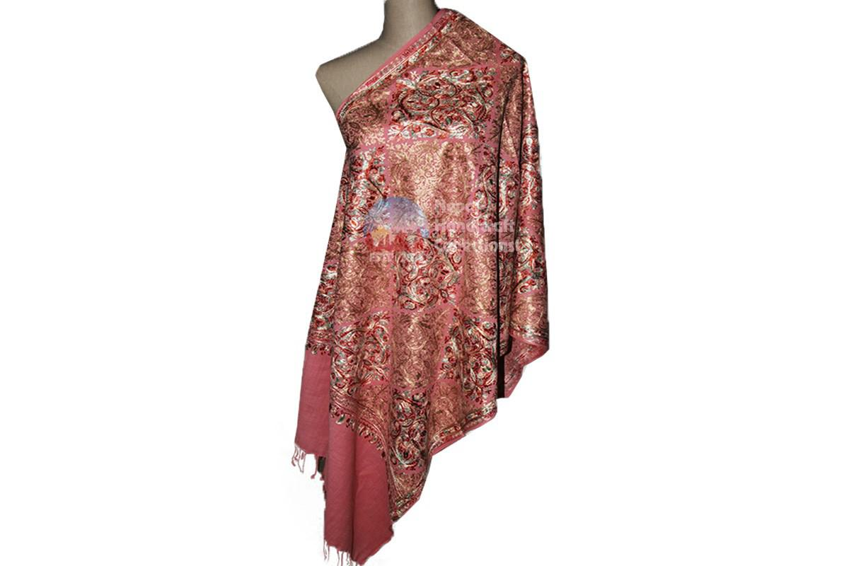 Cashmere Embroidery shawls-8