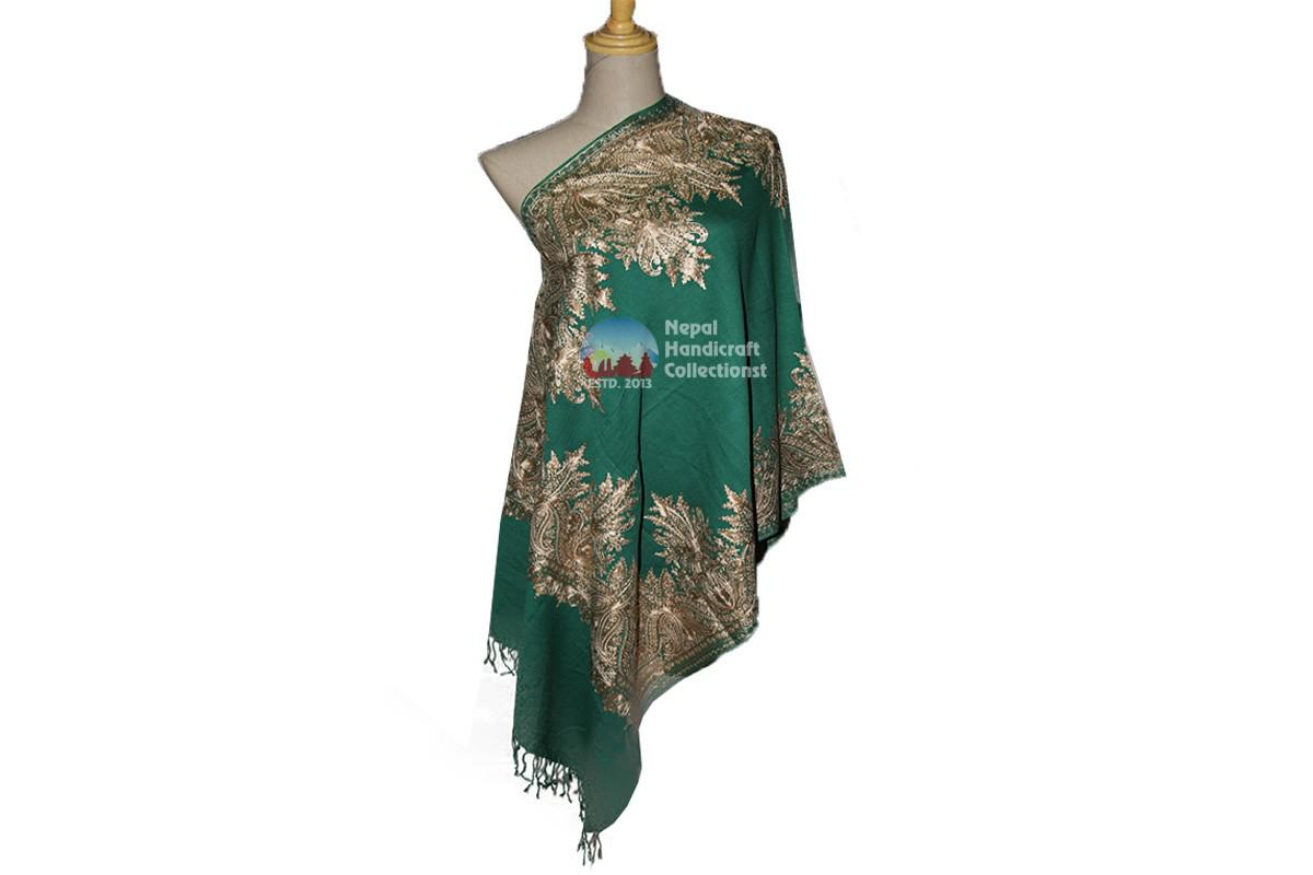 Cashmere Embroidery shawls-7