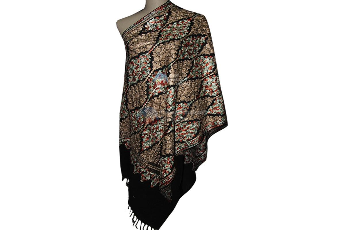 Cashmere Embroidery shawl- 1