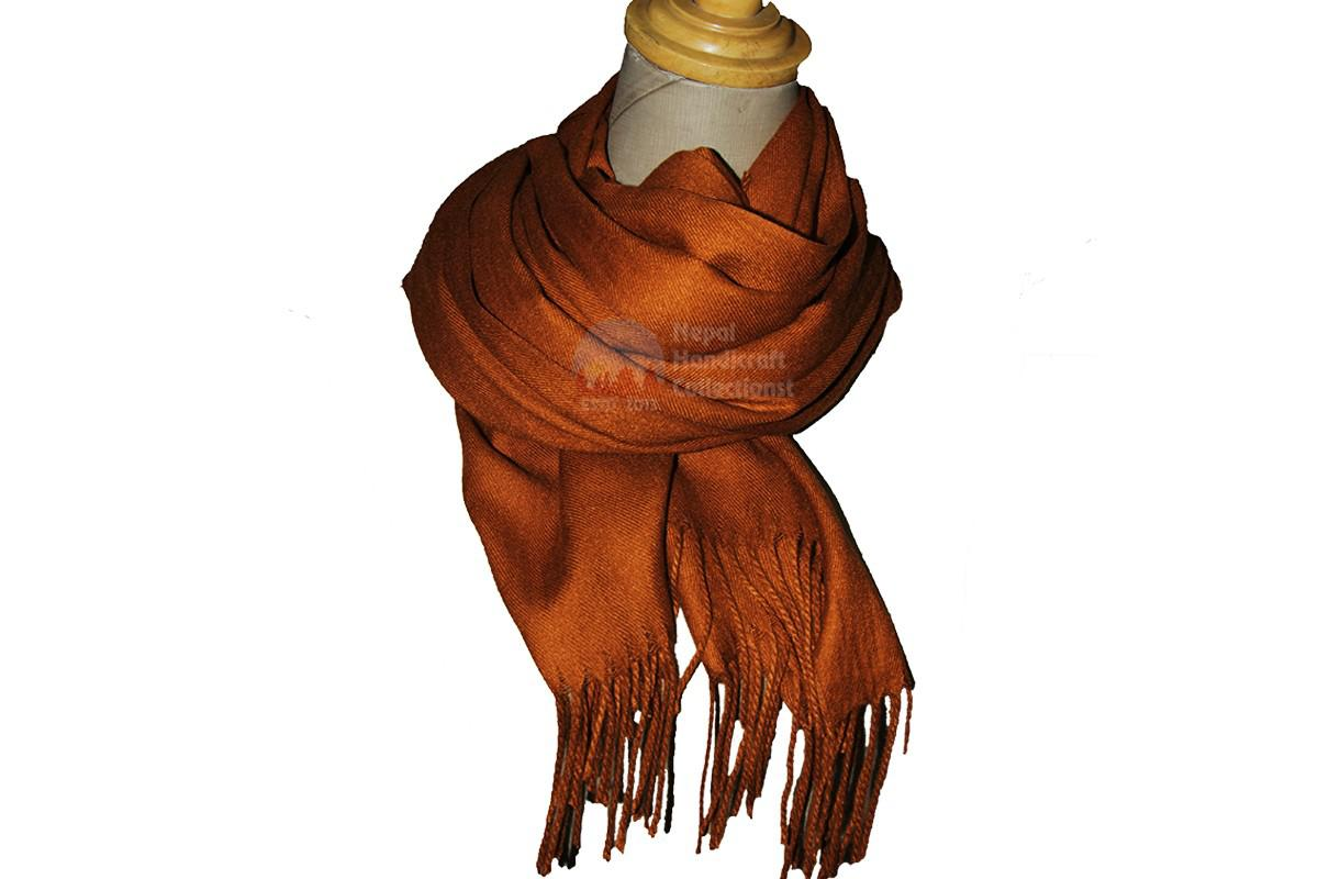 Pashmina shawl - Orange