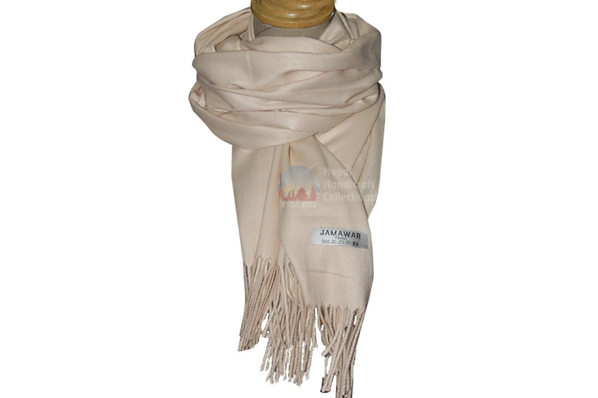 Pashmina shawl - Off white