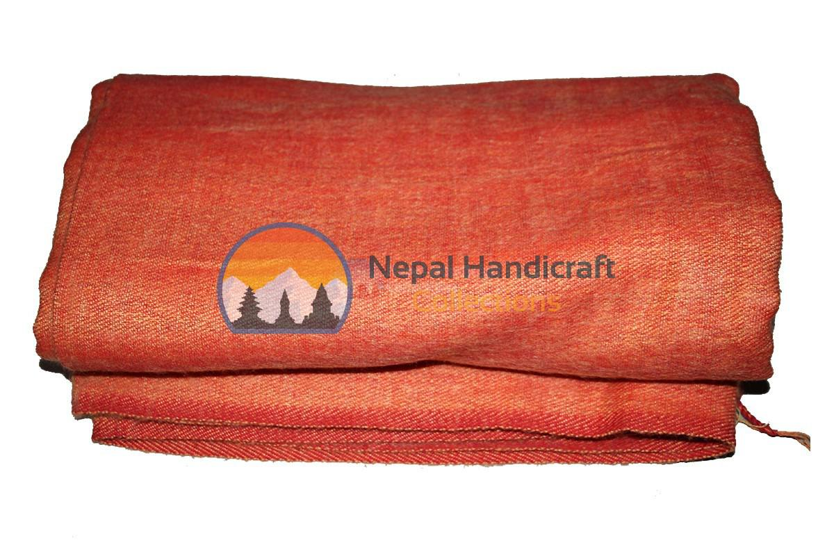 Woolen blanket - Orange