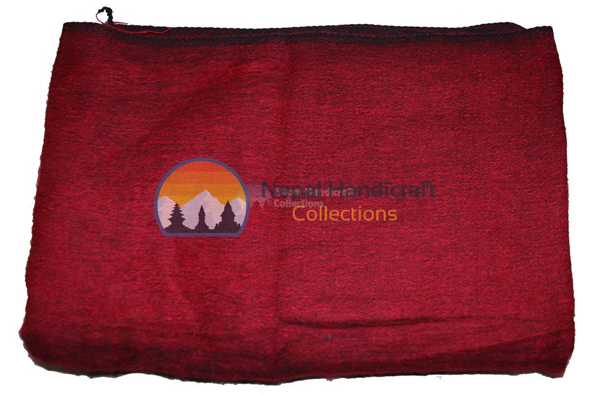 Woolen Blanket- Marron