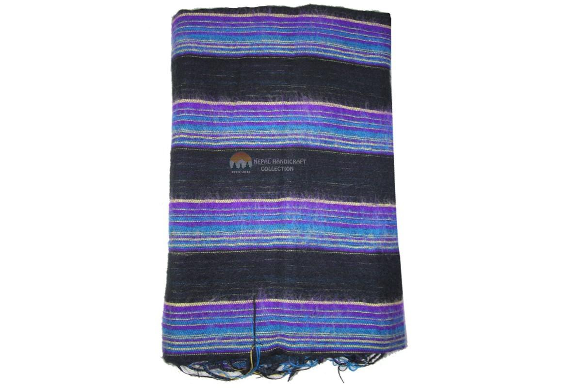 Acrylic Multi color shawls-4